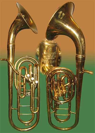 1937-8 King Trombonium Tenor horn